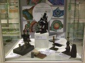 Exponate des Ak Mikroskopie